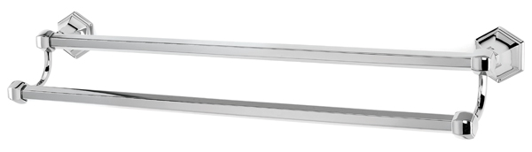 Nicole Double Towel Bar A7725 24 Creations By Alno Inc