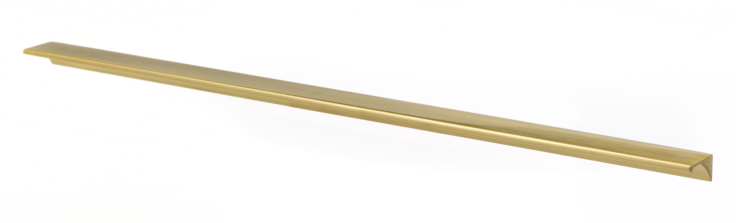 Satin Brass Cabinet Pulls Tab Appliance Pulls D970 12 Creations By Alno Inc