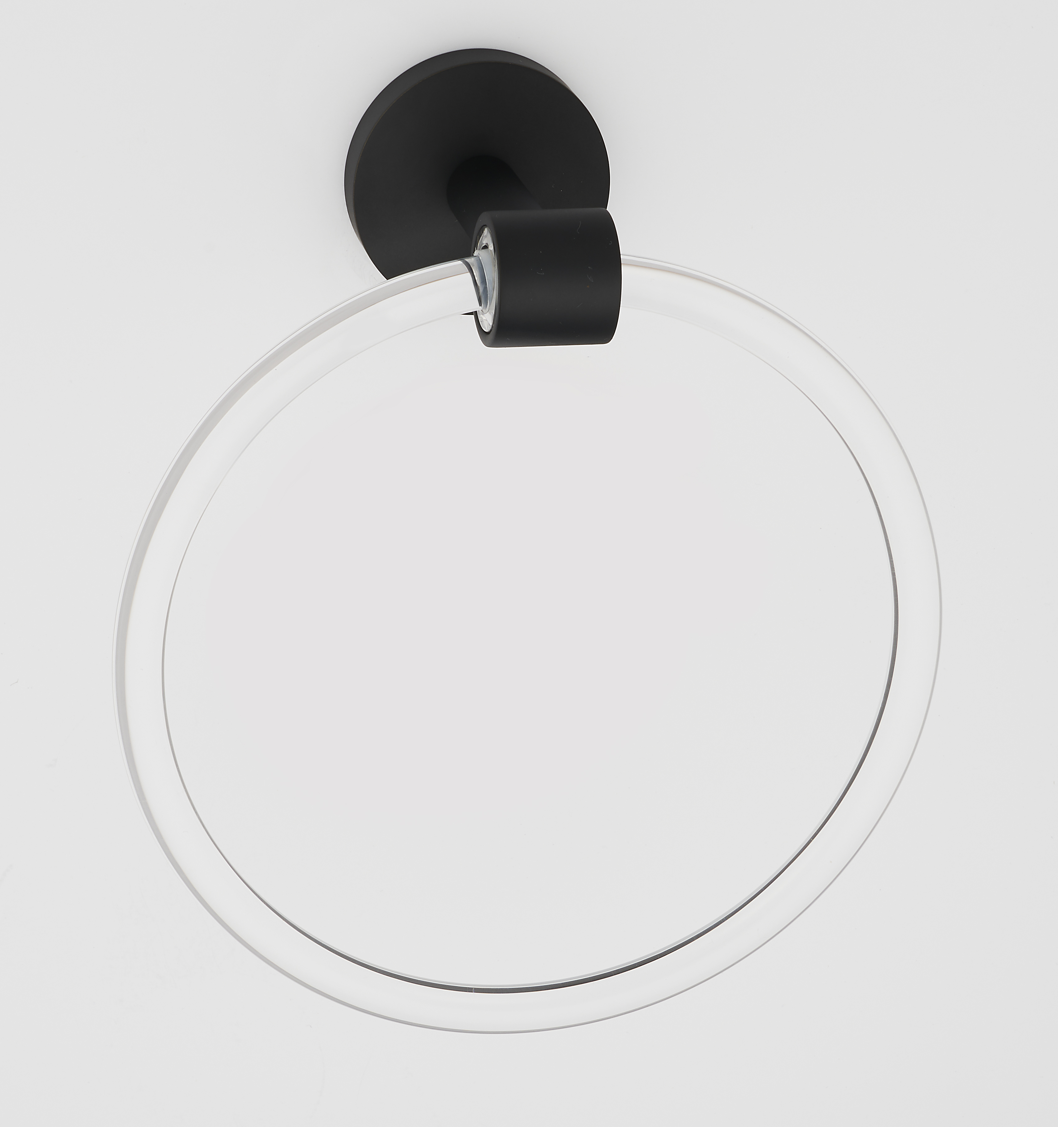 Acrylic Contemporary Towel Ring A7240